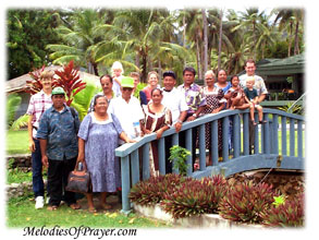 Chuukese brethren participating in the NEWSTART Lifestyle and Wellness Program for Guam/Micronesia -- God's powerful principles of health and salvation is for you, and His love reaches you wherever you are in the world. -- MelodiesOfPrayer.com --